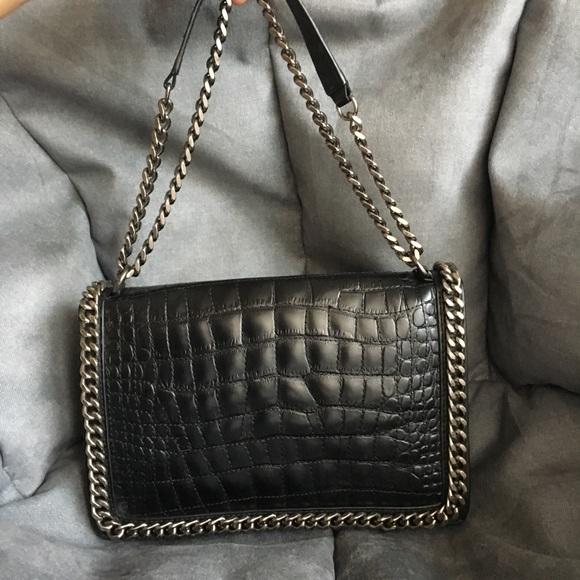 dda0aaea Zara Quilted Leather Crossbody Bag